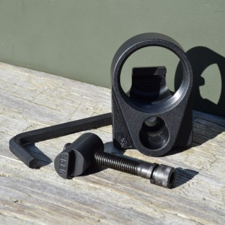 Definitive Arms AKM4 stock adapter for squareback Vepr AK firearms.