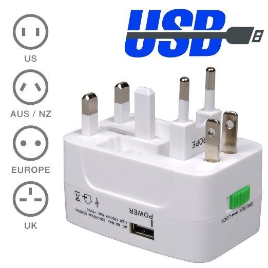 Travel plug adaptor