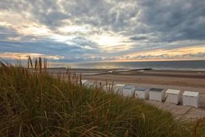 Des cabines sur la plage