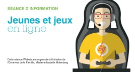 28.03 – Soirée Famille «Jeunes et jeux en ligne»