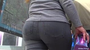 Spanish Girl Certainly Virgin PAWG Recorded Walking Around Madrid