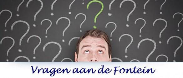 Vragen aan de Fontein