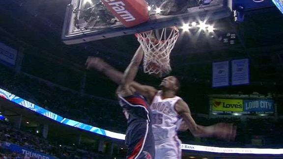 Video Jeff Teague Dunks On Kevin Durant Def Pen