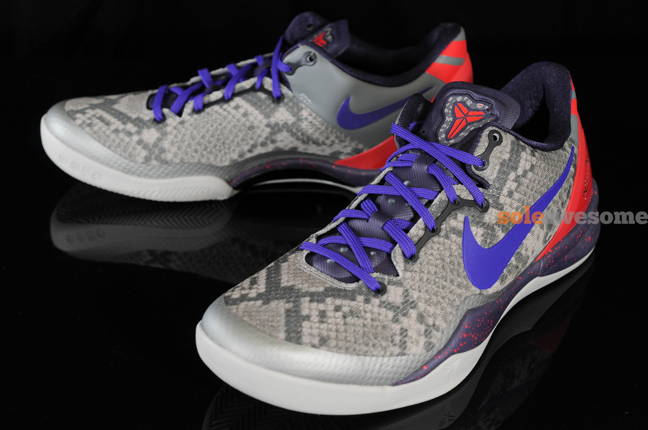 reputable site 28975 123c7 ... cheap nike kobe 8 system mine grey detailed pictures 573aa f4d60