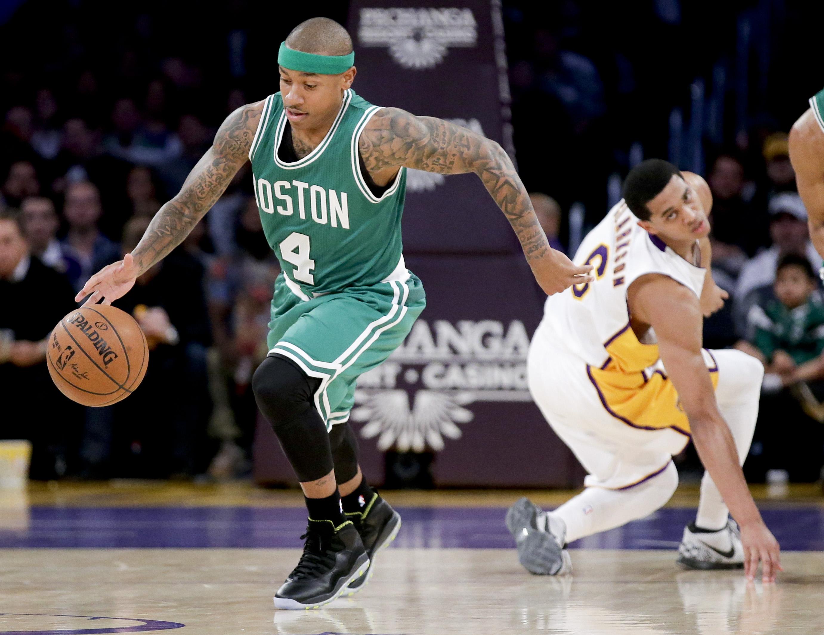 Isaiah Thomas Gets Appraisal From Celtics Legend Nate Tiny