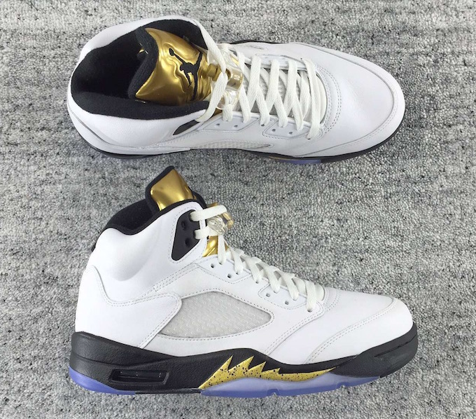 b163aadd1fb490 ... Mens Air Jordans 5s Basketball Shoes AAAA Grade SD120  Air Jordan 5  Olympic Bronze Release Date  UPDATE Check out these new pictures of the Gold  Medal ...