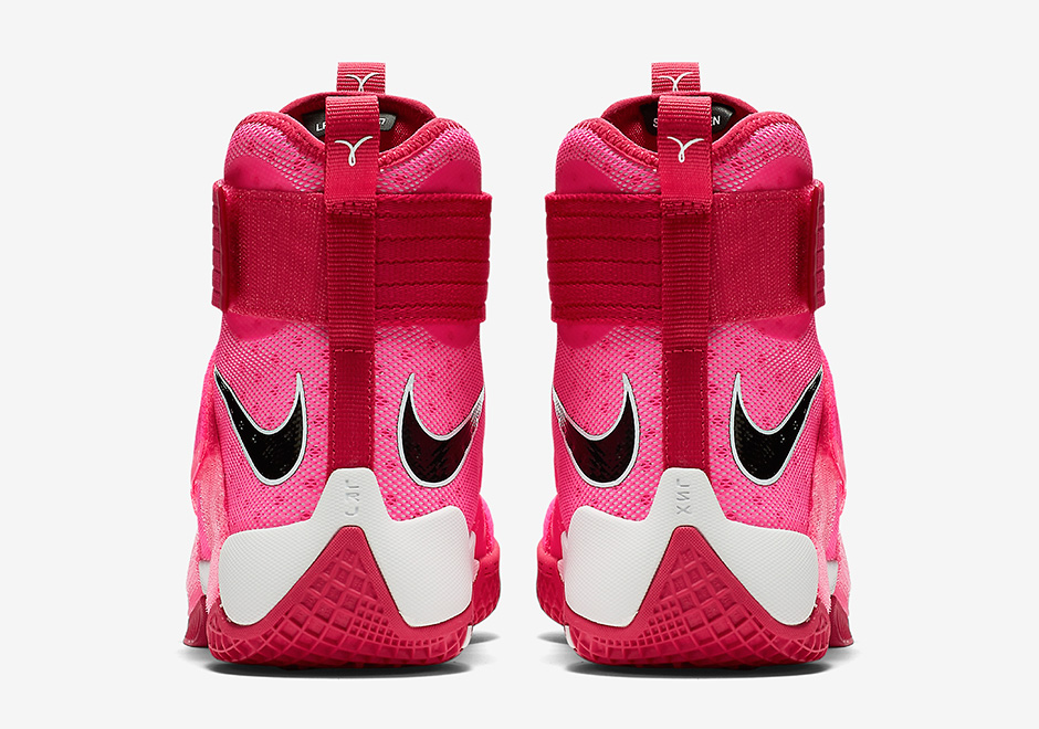 on sale 6f992 7967f ... low price nike lebron soldier 10 think pink release date ff4cc 4d123