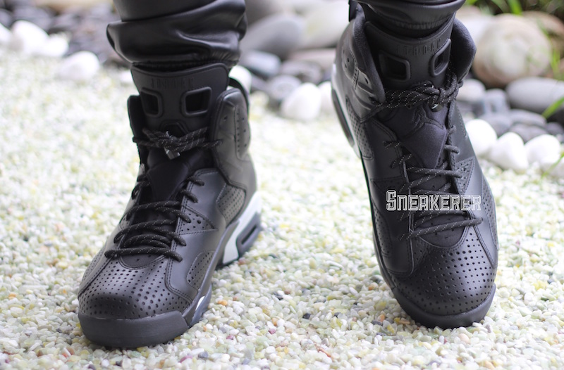 separation shoes 21060 957ba ... bg black cat black 58c47 c1b5e  switzerland update here are some on  feet pictures of the upcoming air jordan 6 retro black