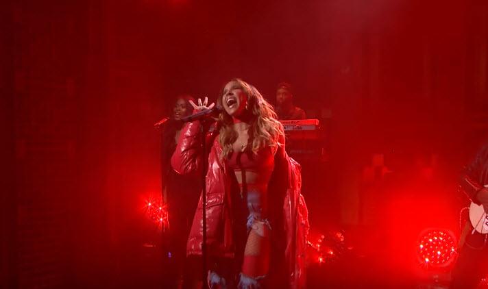 Tinashe Flame The Tonight Show Starring Jimmy Fallon