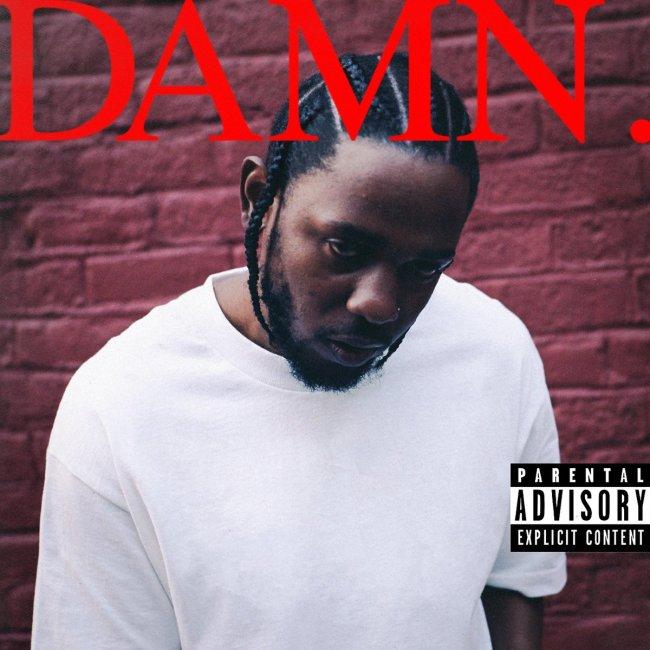Kendrick Lamar Damn Album Cover