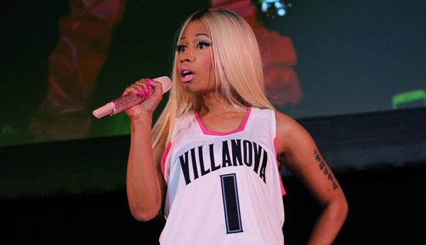 Nicki Minaj 2017 NBA Awards