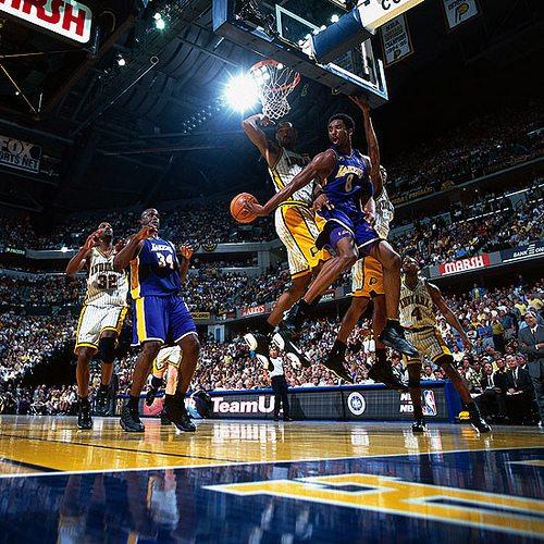 Kobe to Shaq