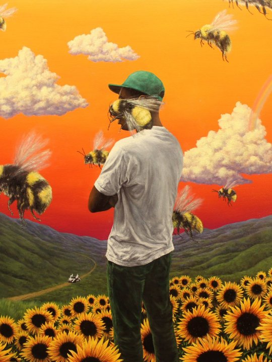 Tyler The Creator Scum Fuck Flowr Boy Album Cover