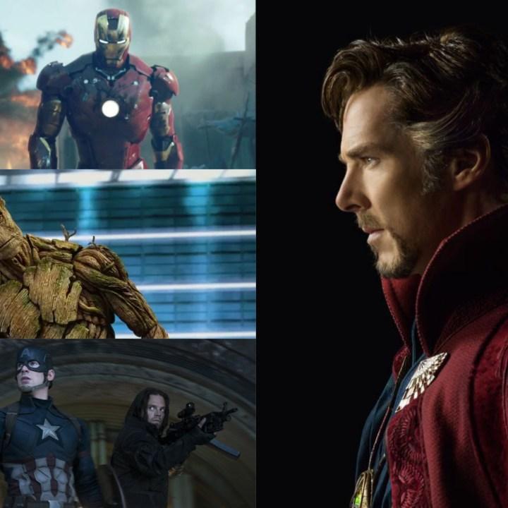 marvel top 10 movies iron man dr strange captain america