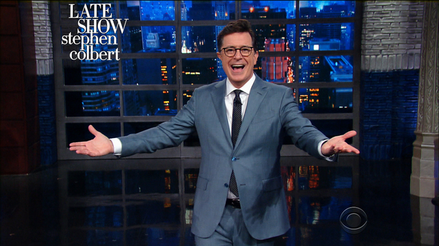 stephen colbert late night round up