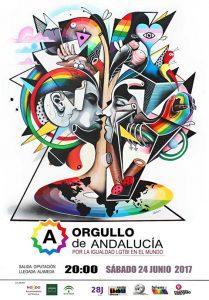 manifestación Orgullo Andalucía