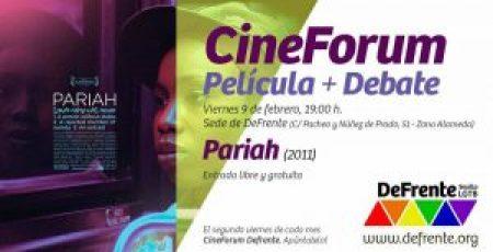 cine fórum pariah 2011