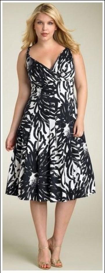 07a-dress-plus-size - vestido florido
