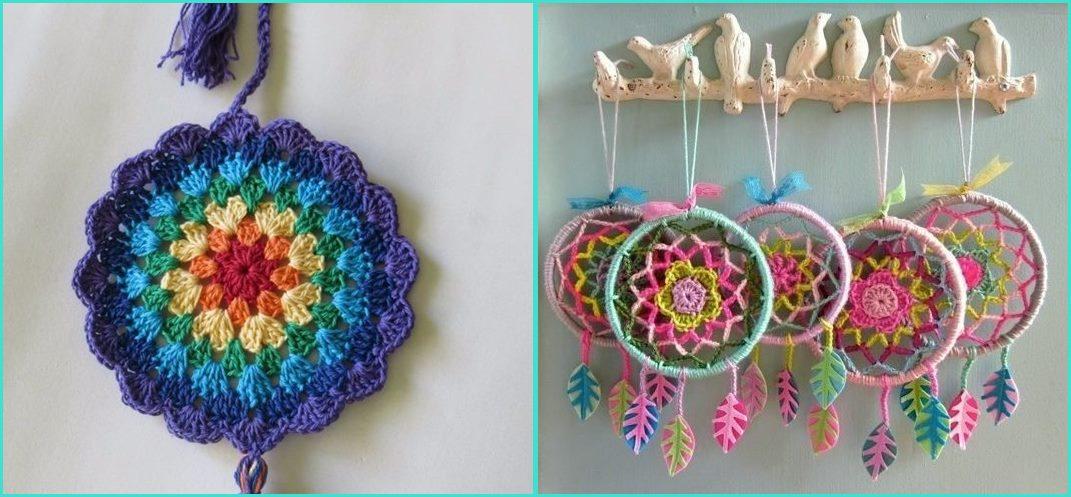 Mandala em crochê pingente - Benefícios e cores da mandala