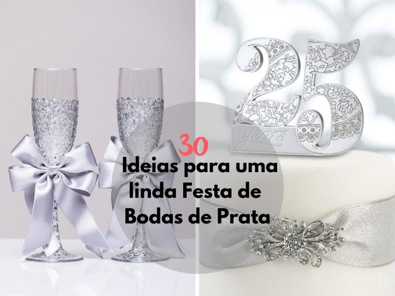 30 Ideias para uma Linda Festa de Bodas de Prata