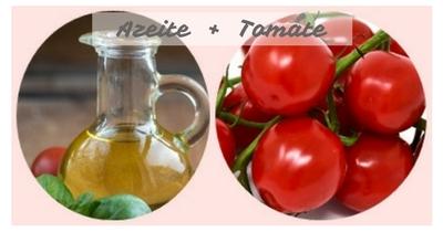 Tomate com azeite - potencializar os alimentos naturalmente