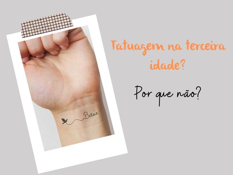 dicas de tatuagem na terceira idade