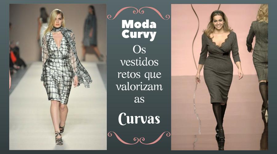 Curvy Fashion: Os vestidos retos que valorizam as curvas