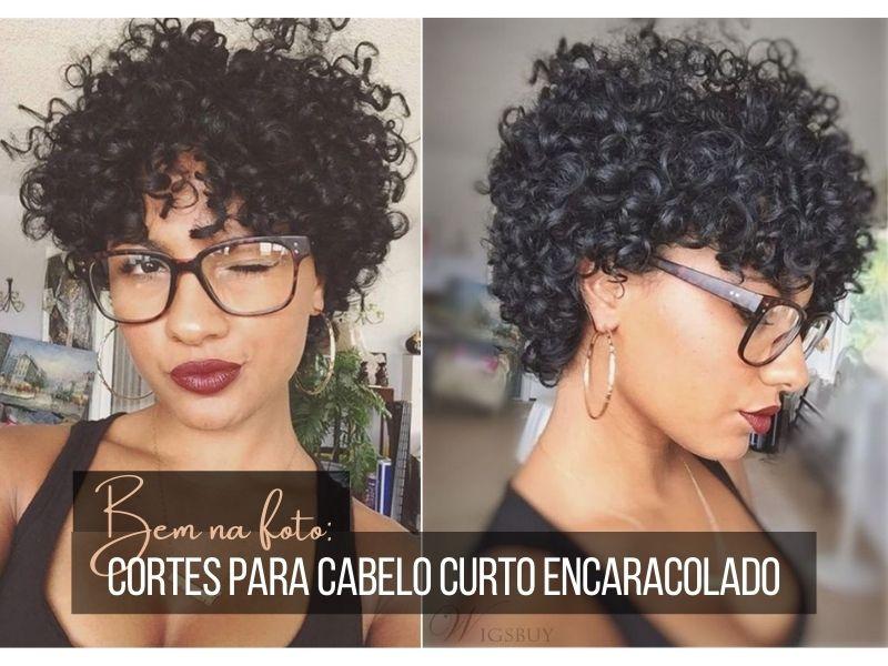Bem na foto: Cortes para cabelo curto encaracolado
