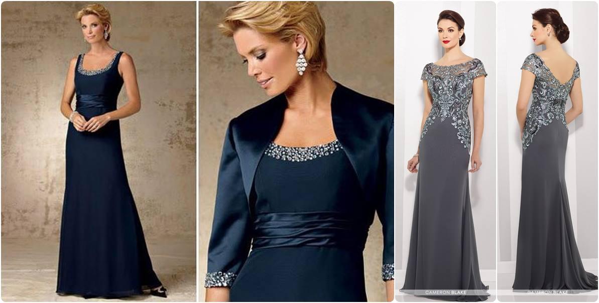 vestido para mãe da noiva ou noivo - moda anti-idade
