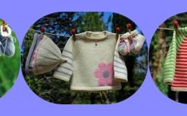 roupa para bebê em tricô