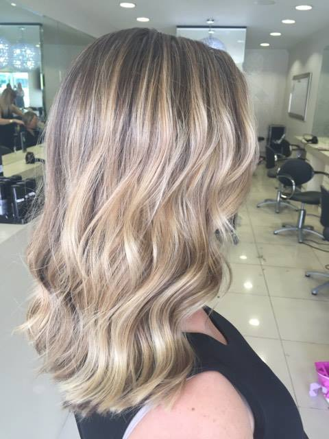 Soft Blonde Foils Balayage Beach Waves Perfect Hair Hairstyles