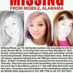 Brittney Nicole Wood missing poster