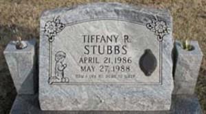 Tiffany Robin Stubbs grave