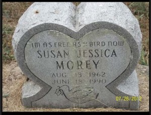 Susan Jessica Morey (Aug 13, 1962 - June 18, 1990)