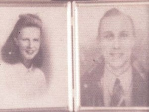 Betty and Edward - Picture LaGrave Family