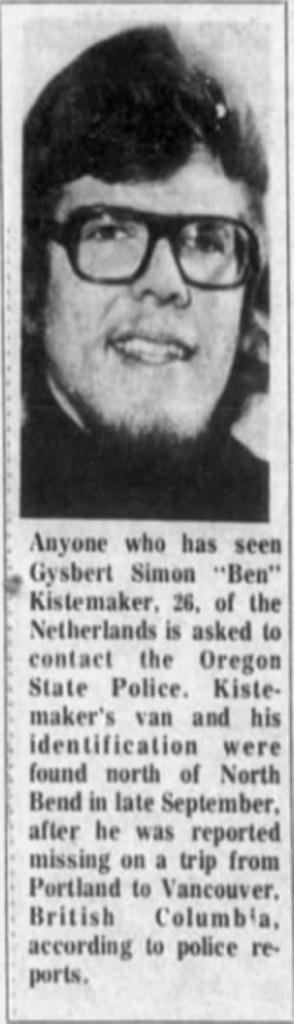 """Gijsbert Simon """"Ben"""" Kistemaker"""