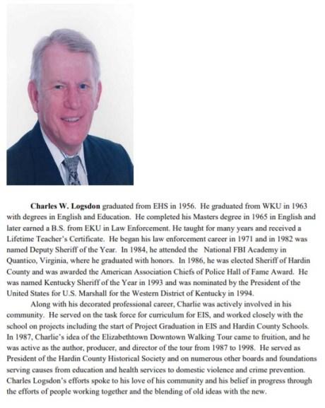 Detective Charles W. Logsdon
