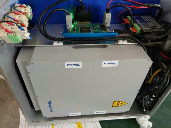 Deftmark™ Raycus Laser Fiber Engraving Machine - Open