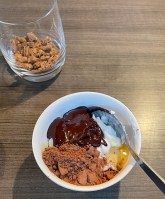 yogurt mix for healthy chocolate dessert