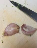 garlic - sun-dried tomato pasta