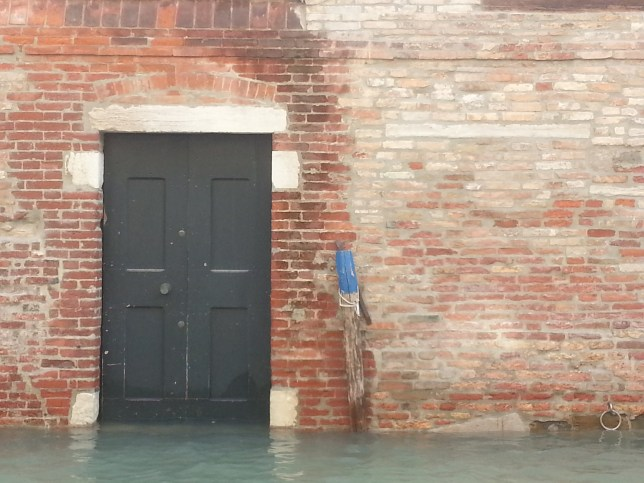 Door on Canal. Venice, Italy. © Tim DeGeorge 2012.