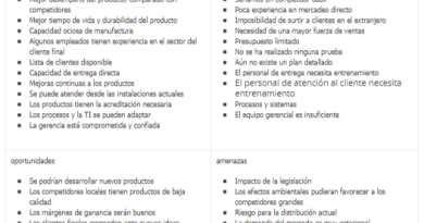 Analisis DOFA y analisis PEST
