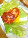 P Terry's Lettuce-Wrapped Double Burger With Cheese