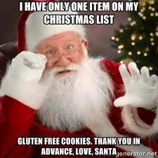 santa gluten-free