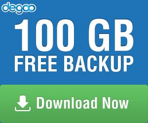 100 GB Free Backup