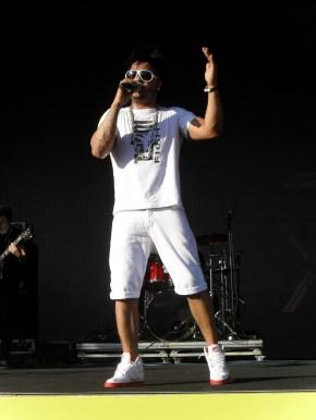 Oscar, vocalista do Disfarce - Foto: Cleibi de Oliveira