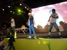 MC K9 e bailarinos - Foto: Cleibi de Oliveira