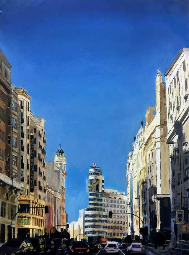 deGranero acrílico Gran Vía Madrid