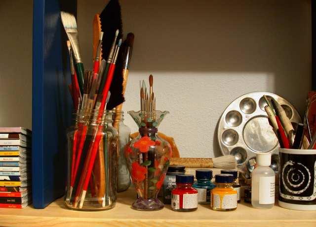 deGranero taller de pintura en Madrid pintar con acrílicos