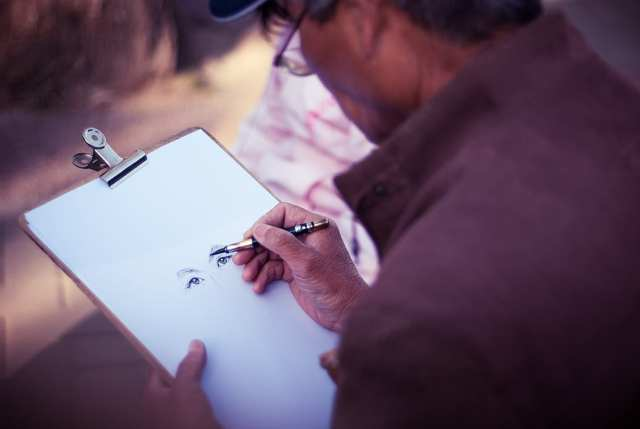 deGranero dibujar personas